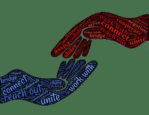 Personalvermittlung Kontakt halten