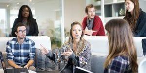 Test: Zufriedenheit im Job - Kollegen